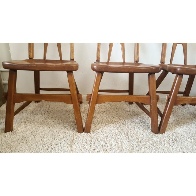 Sikes Furniture Chairs From 1939 - Set of 4 - Image 9 of 10