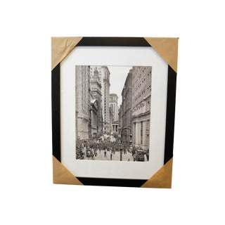 Cityscape & Architecture Framed Black & White Photograph For Sale