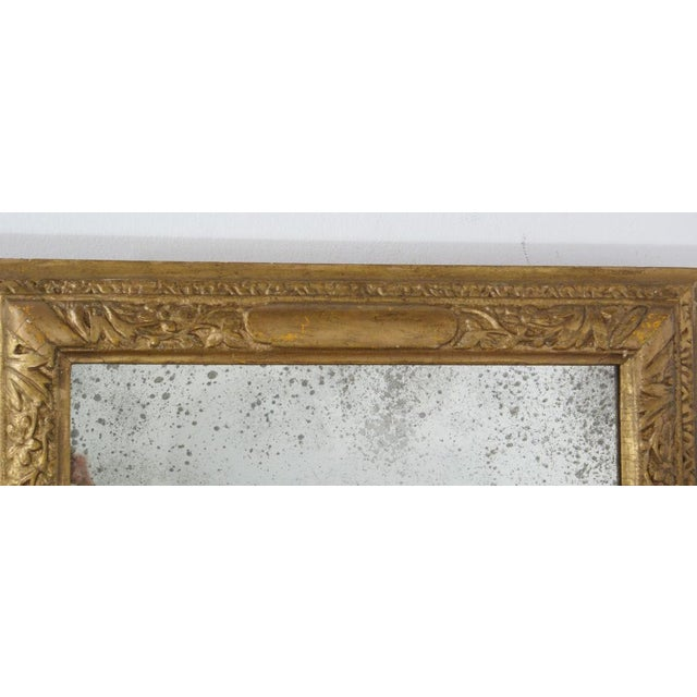18th Century Giltwood Frame Mirror For Sale - Image 4 of 6
