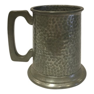 English Pewter Mug by Rand For Sale