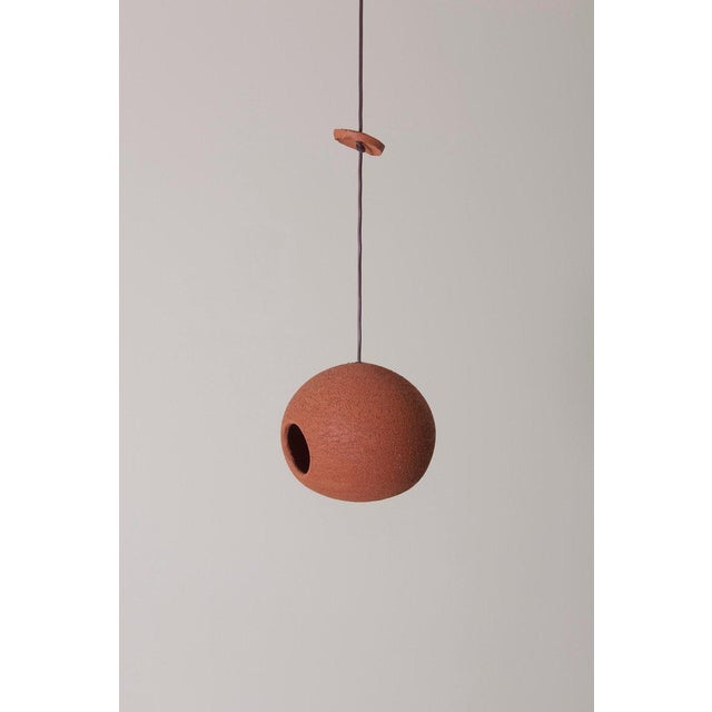 Mid-Century Modern Stan Bitters Bird House in Terracotta, Usa, 2017 For Sale - Image 3 of 5