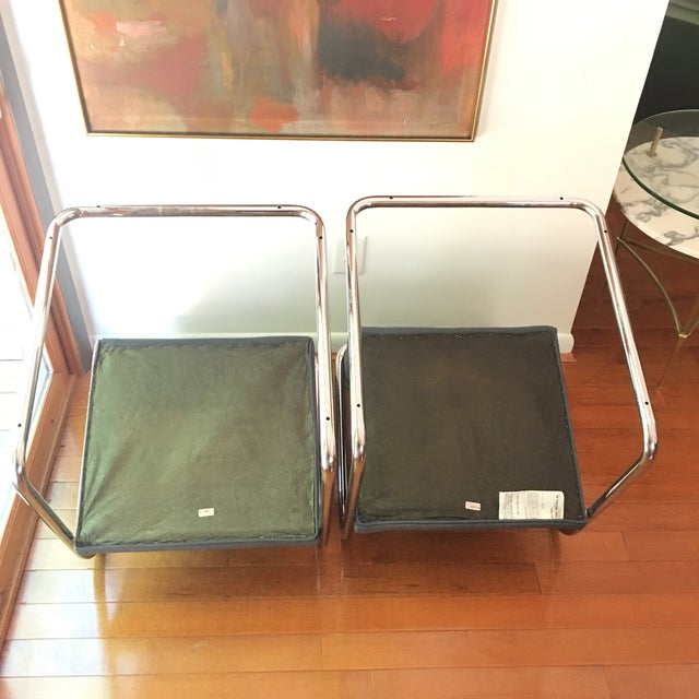 Mies Van Der Rohe for Thonet Brno Chairs - a Pair For Sale - Image 11 of 13