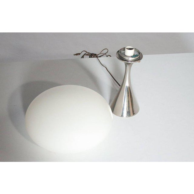 Mid-Century Modern Laurel Mushroom Table Lamp by Bill Curry For Sale - Image 3 of 4