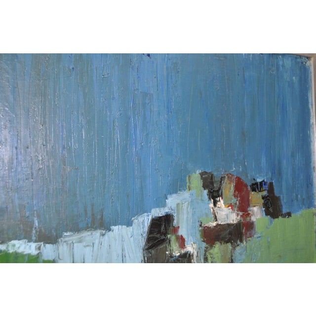 Mid Century Modern Abstract Masterpiece by R. Neeley c.1960 For Sale - Image 4 of 10