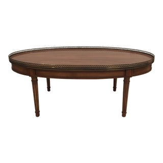 1960s Traditional Wooden Coffee Table For Sale