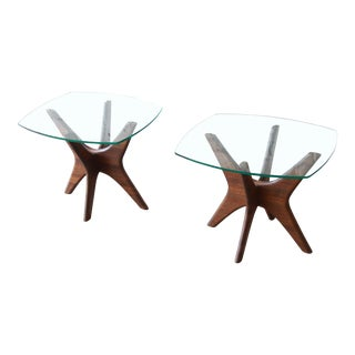 "Adrian Pearsall for Craft Associates ""Jacks"" Side Tables, Pair For Sale"