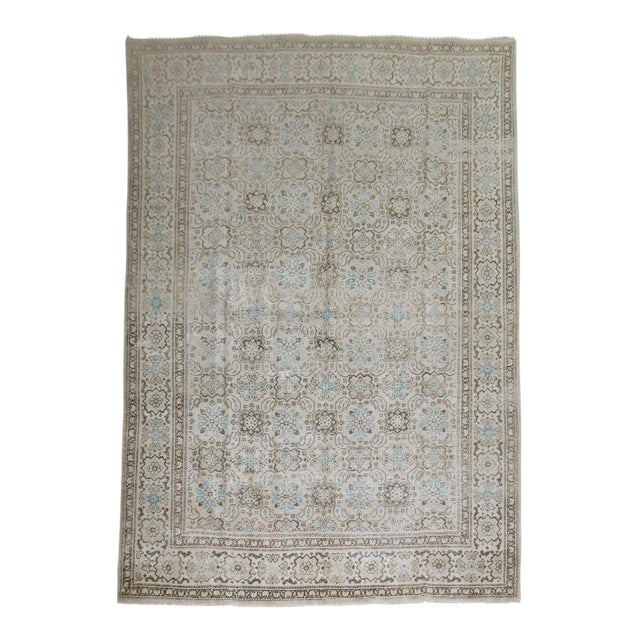 Vintage Shabby Chic Persian Malayer Rug, 8'1'' x 11'8'' - Image 1 of 9