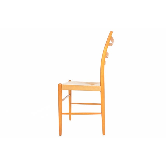 Tan Swedish Yngve Ekström Dining Chairs - Set of 4 For Sale - Image 8 of 11