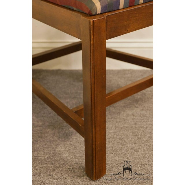 Late 20th Century Drexel Heritage Chippendale Style Dining Chair For Sale - Image 9 of 12