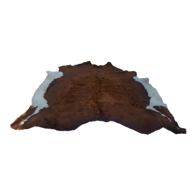 Brazilian Cowhide Rug - 7′ × 7′7″ - Image 1 of 3