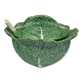 Cabbage Punch Bowl For Sale