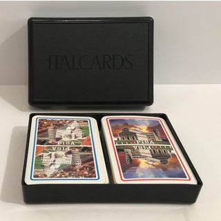 Italian Double Playing Card Set With Box Preview