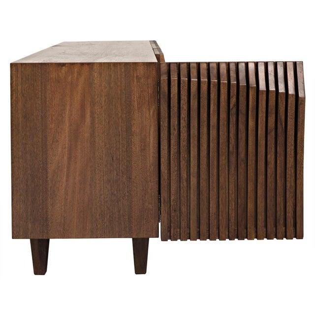 Modern Jin-Ho Dark Walnut Sideboard For Sale - Image 3 of 9