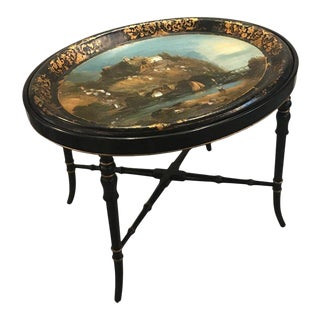19th Century Regency Tray Top Table For Sale