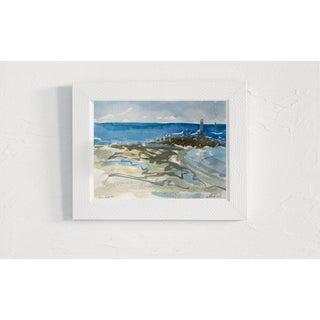 """Seascape Landscape """"Key West #2"""" Original Oil Painting by Rebecca Dvorak Preview"""