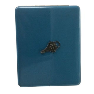 Vintage Enamel Cigarette Case For Sale
