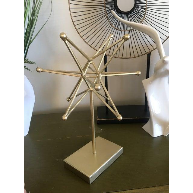Mid Century Atomic Style Starburst Modern Art - Image 4 of 5