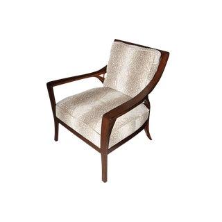 Modern Palecek Custom Fabric Georgio Chair For Sale