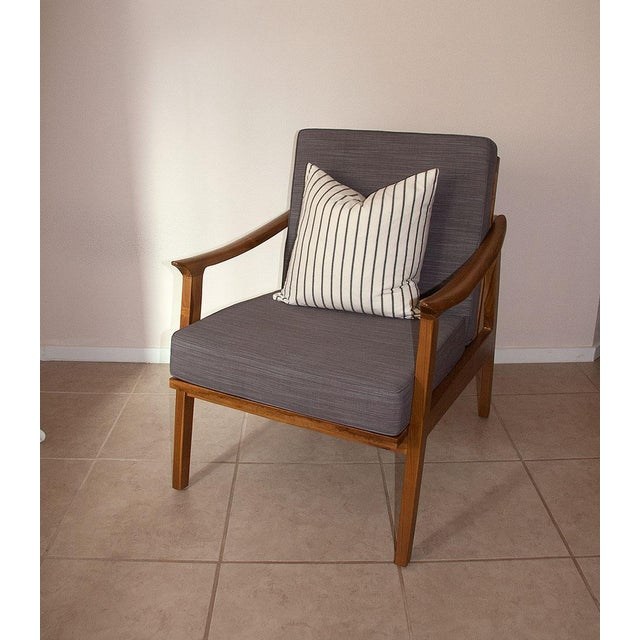 Scandi Java Mid-Century Style Teak Lounge Chair - Image 5 of 6