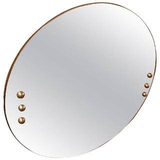 Amazing Peach Donald Deskey Art Deco Mirror For Sale