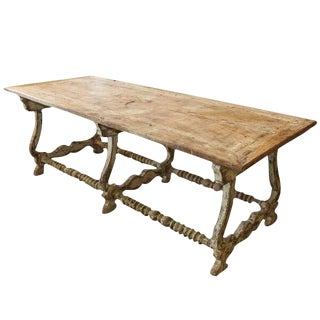 Painted Spanish Trestle Table