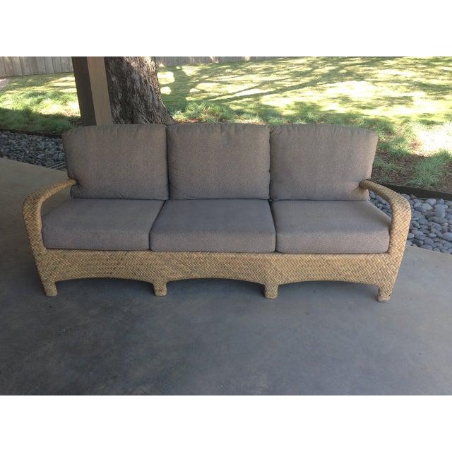 Brown Jordan Outdoor Patio Sofa - Image 2 of 10