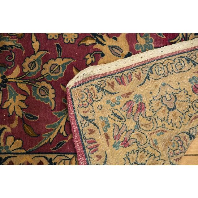 """Vintage Lilihan Carpet - 6'2"""" X 9'6"""" For Sale - Image 10 of 12"""