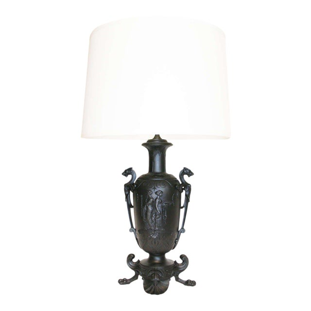 19th Century Neo-Grec Lamp For Sale