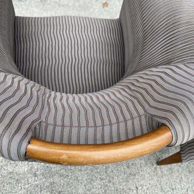 Taupe John Hutton for Donghia Plato Mod Barrel Chairs - a Pair For Sale - Image 8 of 13