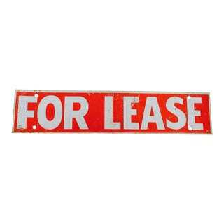 Industrial 'For Lease' Real Estate Sign