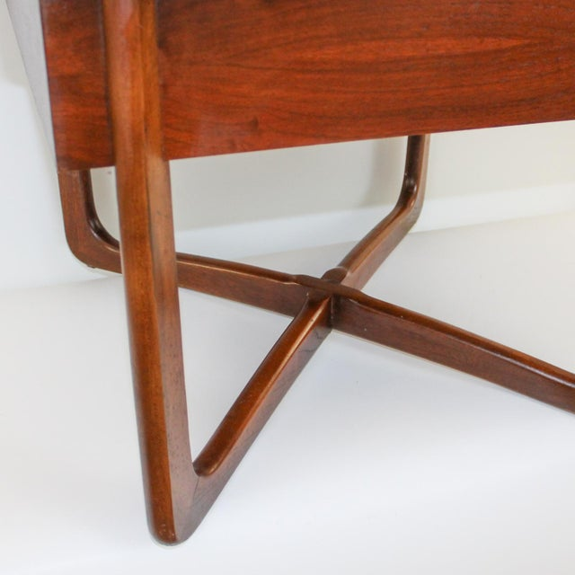 Mid-Century Lane Perception X-Base End Table - Image 9 of 10