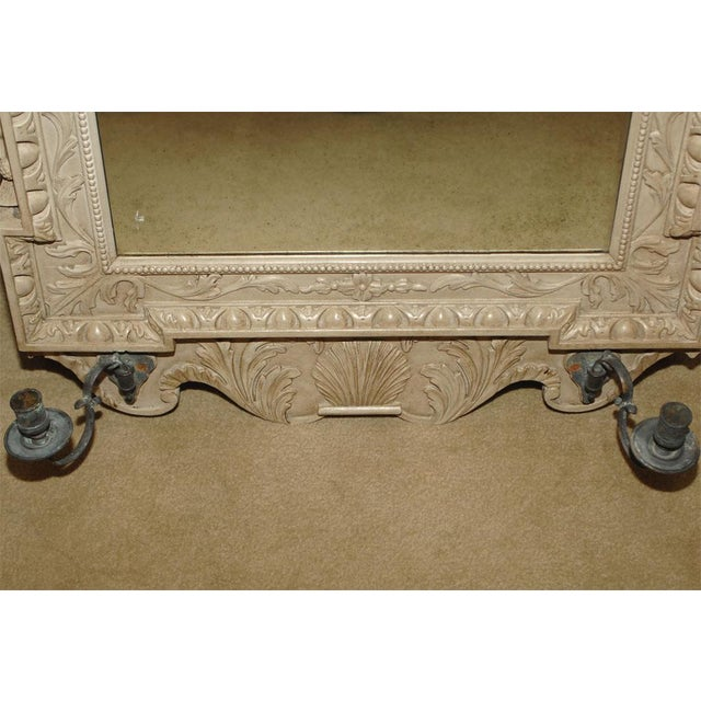 English Traditional Early 20th Century Reproduction Georgian Mirror For Sale - Image 3 of 5