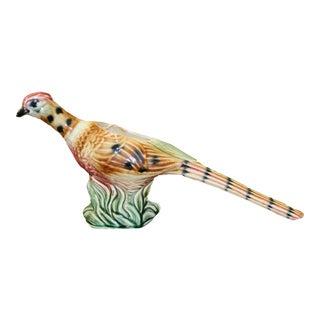 Vintage Ceramic Pheasant Planter
