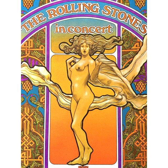 Rolling Stones 1969 Tour Original Vintage Poster - Image 2 of 5
