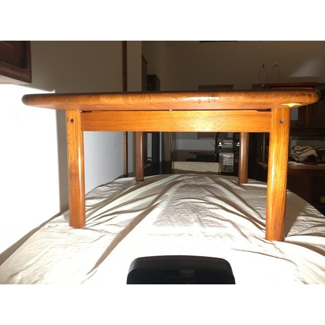 Teak Tarm Stole Mid-Century Solid Teak Danish Coffee Table For Sale - Image 7 of 11