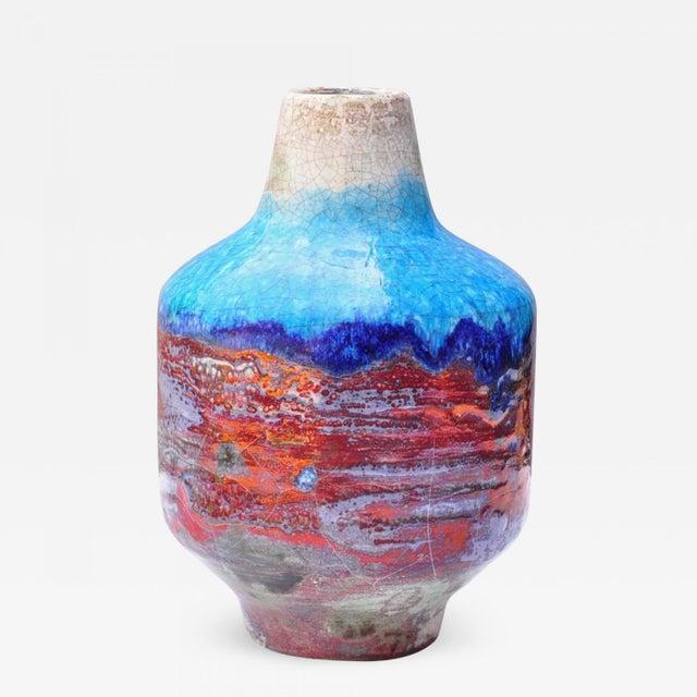 "Studio ceramic by Gustav Sporri post Ziegler tenor period. Sign to bottom ""Original G. Sporri CH"""