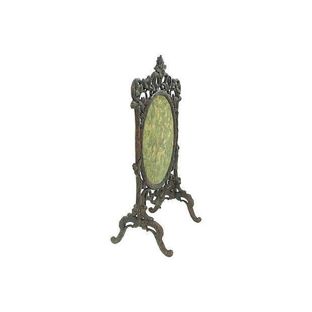 19th Century Black Forest Carved Fireplace Screen - Image 2 of 6