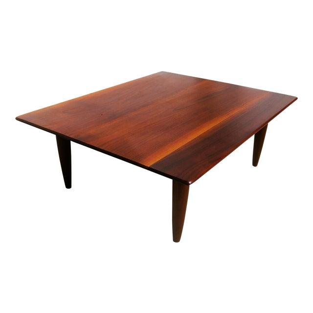 Mid-Century Low Coffee Table - Image 1 of 6