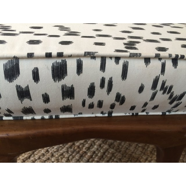 Brunschwig & Fils 'Les Touches' Recovered Carlo DI Carli Modern Ottoman For Sale - Image 4 of 6