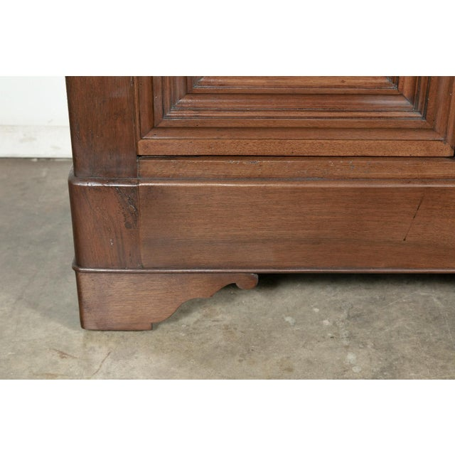 Brown 19th Century French Louis Philippe Enfilade Buffet With Bookmatched Front For Sale - Image 8 of 11