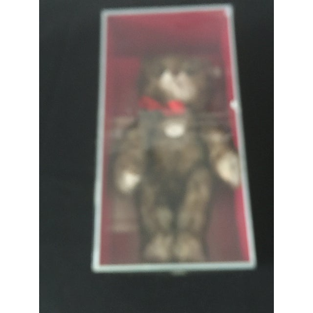 "Antique Steiff Teddy Bear - Replica, 1926 ""Happy Anniversary"" Teddy Bear For Sale - Image 9 of 12"