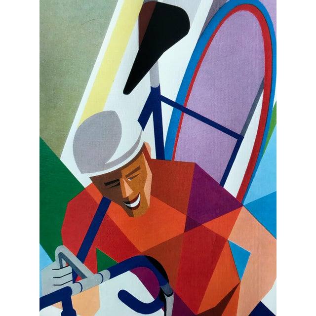 Contemporary 2002 Contemporary Cycling Poster, Foré (Arches Paper) For Sale - Image 3 of 6