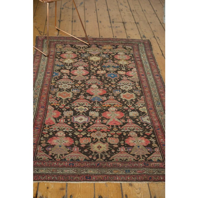 "Antique Malayer Rug - 3'7"" x 6'6"" For Sale - Image 9 of 10"