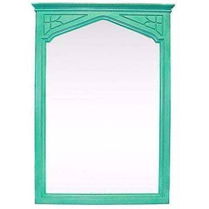 Hand Painted Arts & Crafts Mirror For Sale