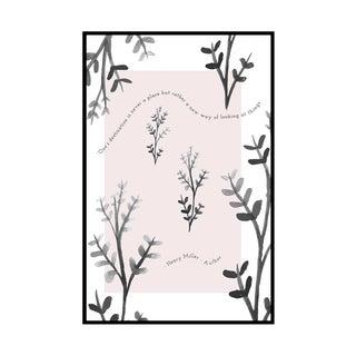 """Henry Miller Garden"" Original Framed Illustration"