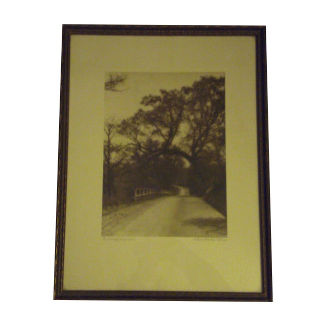 1920s Signed SepiaPhoto by Helene Gould Allene - Image 1 of 7