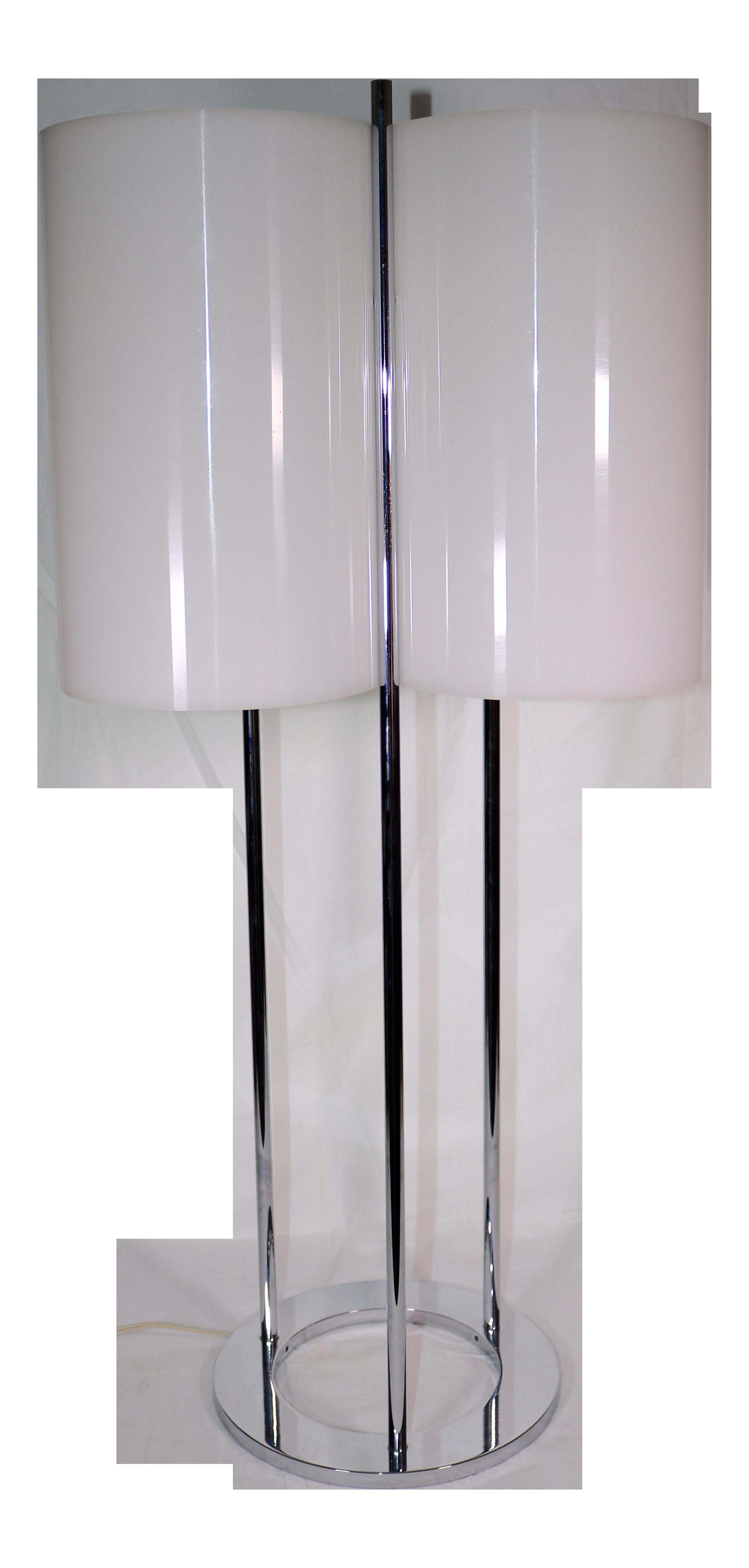 1970s Vintage Paul Mayen Modern Three Light Table Lamp Chairish