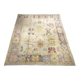 """Bellwether Rugs """"Cloe"""" Old Look Oushak - 8′5″ × 10′2″ For Sale"""