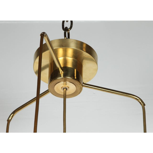 1960s Organic Globe Four-Light Fixture by Doria For Sale In New York - Image 6 of 7