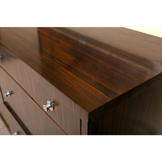 E.J. Victor Zebrawood Willie Chest For Sale - Image 10 of 10